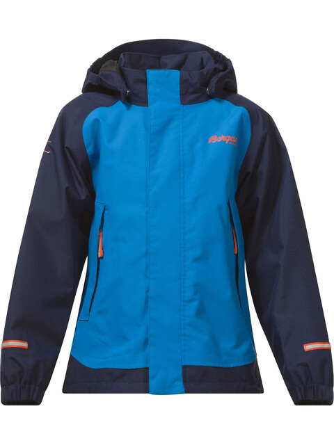 Bergans Kids Knatten Jacket LT Sea Blue/Navy